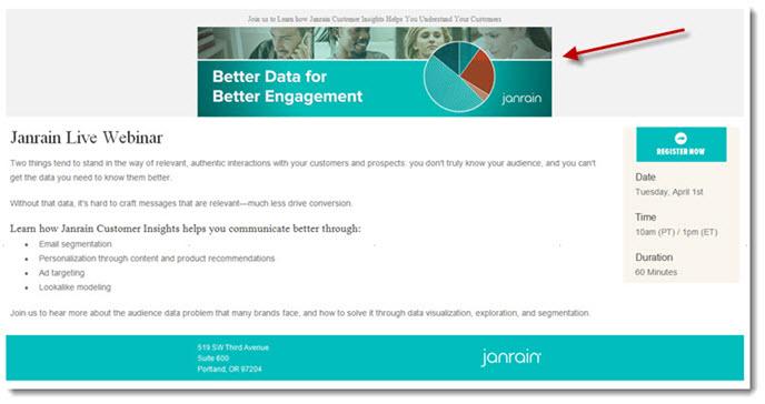 Janrain Webinar invitation
